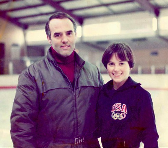 Peter Burrows and Dorothy Hamill